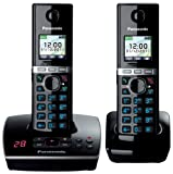 Hot Deal  Panasonic  KX-TG8062EB Twin Colour DECT Phone Set with Answer Machine