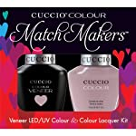 Cuccio Veneer and Colour Matchmaker Nail Polish Longing for London