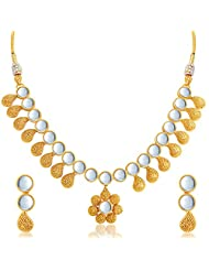 Sukkhi Amazing Gold Plated Kundan Necklace Set For Women