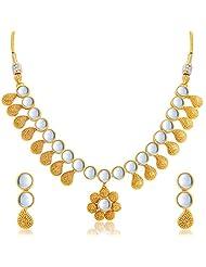 Sukkhi Amazing Gold Plated Kundan Necklace Set For Women