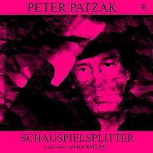 Schauspielsplitter Hörbuch von Peter Patzak Gesprochen von: Peter Patzak
