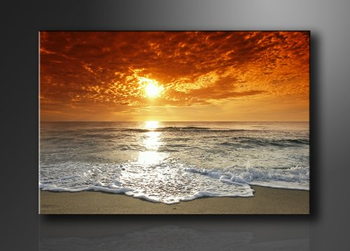 Picture - art on canvas beach length 47