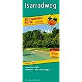 Radwanderkarte Isarradweg: Mit Ausflugszielen, Einkehr- & Freizeittipps, wetterfest, reissfest, abwischbar, GPS-genau. 1:50000