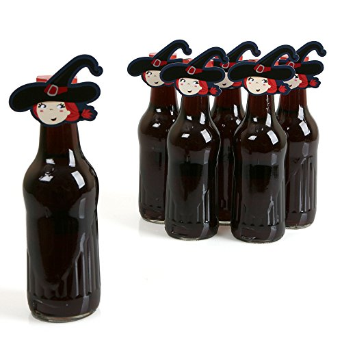 [Bewitching Bash - Shaped Halloween Party Favors Bottle Toppers - 12 Count] (Soda Bottle Costumes)