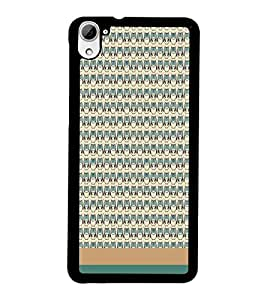 PrintDhaba Owl pattern D-1861 Back Case Cover for HTC DESIRE 826 (Multi-Coloured)