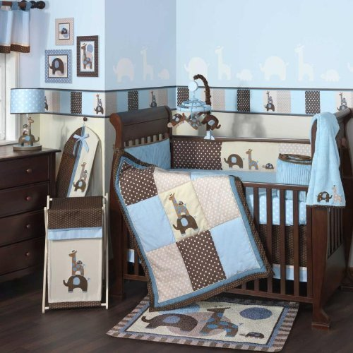 Perfect Jake Piece Baby Crib Bedding Set by Lambs Ivy