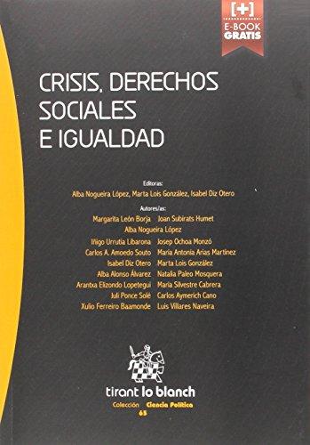 Crisis, Derechos Sociales e Igualdad (Serie Ciencia Política)