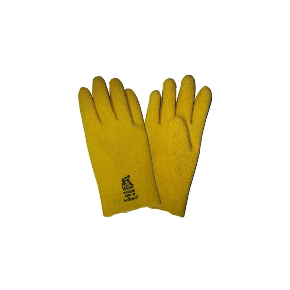 Global Glove 9960 FrogWear Breathable PVC on Seam Free Liner Glove with Actifresh, Work, Small (Case of 72)