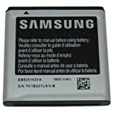 Samsung Original OEM Galaxy S2 1800 mAh Spare Replacement Li-Ion Battery for All Carriers - Non-Retail Packaging - Silver