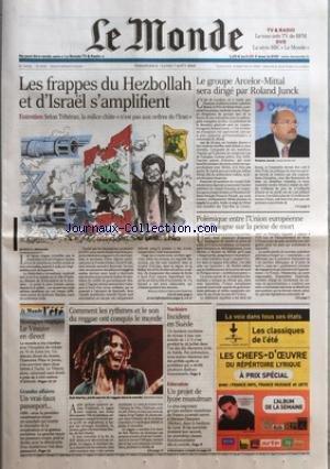 monde-le-no-19138-du-06-08-2006-les-frappes-du-hezbollah-et-disrael-samplifient-par-mouna-naim-et-be