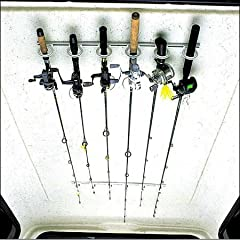 DU-BRO Fishing Trac-A-Rod Storage System 2-Feet Silver/White