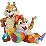 Enesco Disney by Britto by Enesco Chip and Dale Figurine, 6""