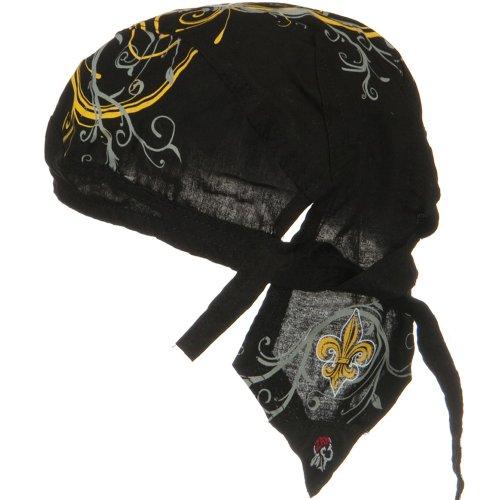 Road Hog Series Headwraps-Fleurde Lis 2 OSFM