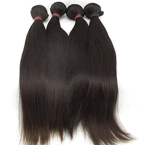 Lanova-Beauty-Womens-4PcsLot-6A-Human-Hair-Extensions-Peruvian-Silky-Straight-Hair-Weaves-Size10-28