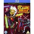 Star Wars-Clone Wars: Season 1-5 [Blu-ray] [Import]