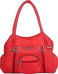 Gracetop Women's Handbag (Red, Lp-Red)