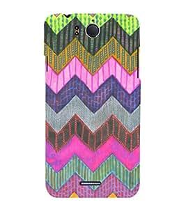 EPICCASE color triangle Mobile Back Case Cover For InFocus M530 (Designer Case)