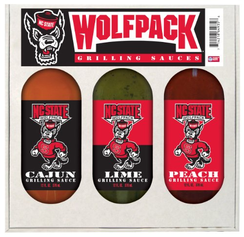North Carolina State Wolfpack NCAA Grilling Gift