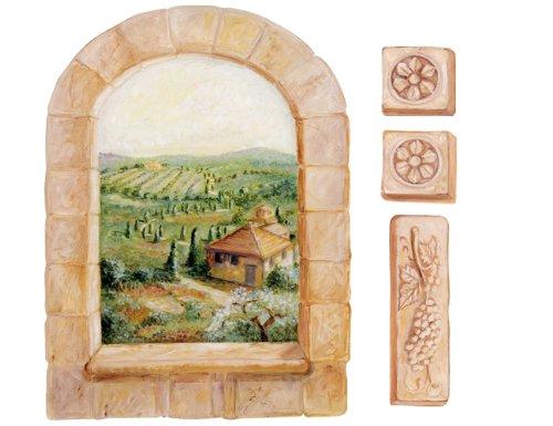 Simply diy wallies wallpaper window murals for Amazon mural wallpaper