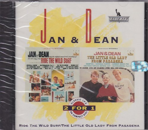 Jan & Dean - Ride The Wild Surf & The Little Old Lady From Pasadena - Zortam Music