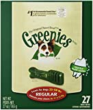 Greenies 10071442 27-Ounce Canister, Regular 27 Count