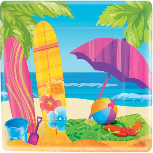 Surfs Up Dinner Plates 8ct