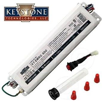 keystone 2 pack 120 volts t8 or t12 emergency. Black Bedroom Furniture Sets. Home Design Ideas
