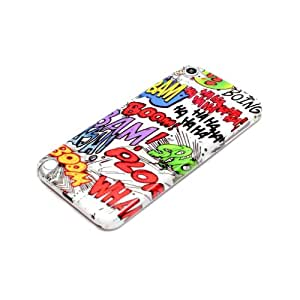 deinPhone Apple iPod Touch 5 5G HARDCASE Hülle Case Comic Boom