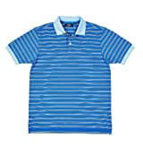 Jack Nicklaus Dry Range Regimental Stripe Golf Polo Shirt