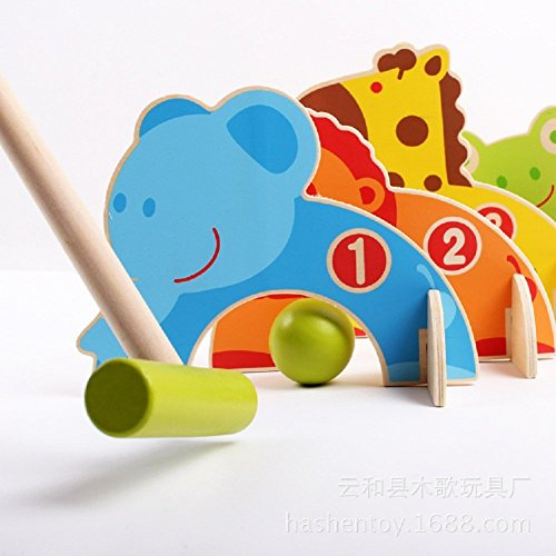 Kidcia-4-Doorways-Cartoon-Animal-Croquet-Toy-Game-Wooden-Golf-Toys-Funny-Outdoor-Family-Educational-Games-for-Kids