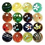 Large 'Designer' Marbles, 35mm - Spot...