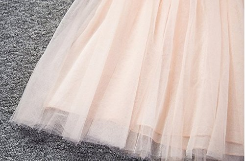 Baby Girls Sleeveless Lace Wedding Vintage Birthday Party Princess Flower Dress 5