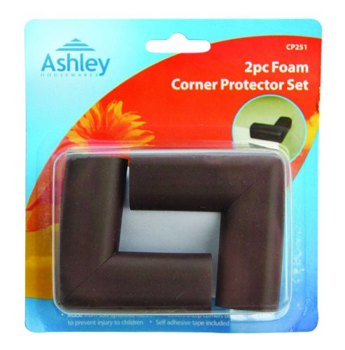 2 Piece Foam Table, Desk Corner Protector Set, Protects Children From Injury