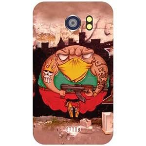 Micromax Canvas 2 A110 - Attractive Matte Finish Phone Cover