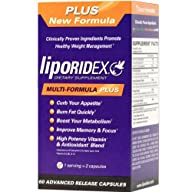 Liporidex PLUS – Multi Formula Thermogenic Weight Loss Supplement Fat Burner Metabolism Booster &…