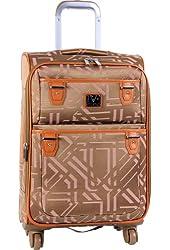 Diane Von Furstenberg Luggage Modern Tile 20 Inch Expandable Spinner