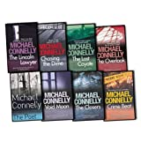 Michael Connelly Michael Connelly Mickey Haller 8 Books Collection Pack Set RRP: £61.54 (The Poet Every Rhyme Means Death, The Lincoln Lawyer, Chasing The Dime, The Last Coyote, The Overlook, Void Moon, The Closers, Crime Beat: Stories of Cops and Kille