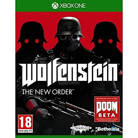 BETHESDA-Wolfenstein The New Order Jeu XBOX One