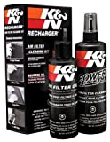 K&N エアーフィルターケアサービスKIT オイル237ml/クリーナー 355ml k&n air filter 99-5050