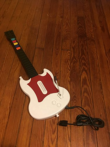RedOctane Gibson Guitar Hero Guitar / SG Controller (White/Red) for PS2 (Guitar Hero Ps2 Wired Guitar compare prices)