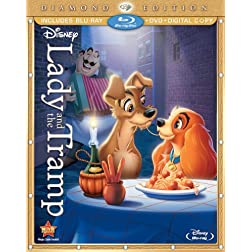 Lady and the Tramp (Three-Disc Diamond Edition Blu-ray/DVD + Digital Copy)