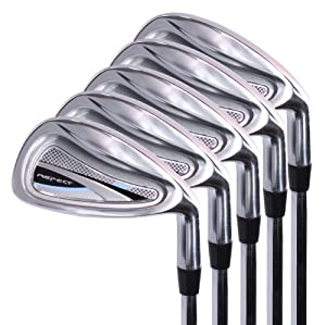 Intech Golf Ladies Aspect Iron Set 7-PW-SW Steel Right Hand by Intech