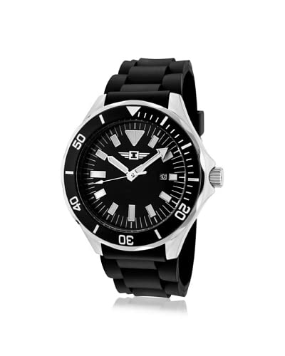 I by Invicta Men's 90244-001 Black Rubber Watch
