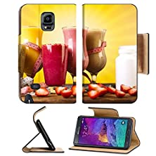 buy Msd Premium Samsung Galaxy Note 4 Flip Pu Leather Wallet Case Image Id 35419009 Cocktails With Fresh Fruits Vitamin And Fitness