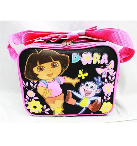 Lunch Bag - Dora the Explorer - Butterfly Black - 1
