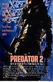 Predator 2 - A4 MOVIE FILM POSTER - Size 21.0 x 29.7cm