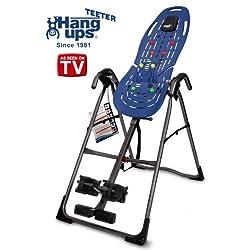 Teeter Hang Ups EP-560 Ltd Inversion Table w/ bonus Acupressure Nodes & Lumbar Bridge