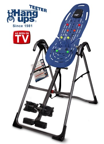 Teeter Hang Ups EP-560 Ltd Inversion Table w/ bonus Acupressure Nodes & Lumbar Bridge