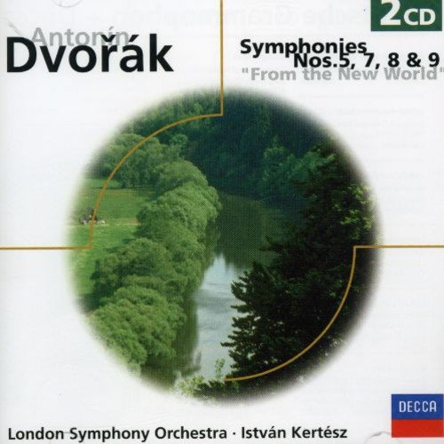 Dvorák: Symphonies Nos. 5, 7, 8, & 9 - From the New World (Dvorak Symphonies Kertesz compare prices)