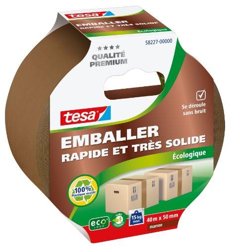 tesa-emballer-adhesif-de-fermeture-pp-rapide-et-tres-solide-ecologique-marron-40m-x-50mm